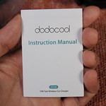 dodocool Qi 充電器車載ホルダー 開封レビュー (8)