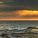 Sunrise Seascape by Merrillie