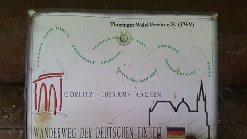 20170605 07 205 Regia Wanderweg der deutschen Einheit Görlitz Hinweisschild
