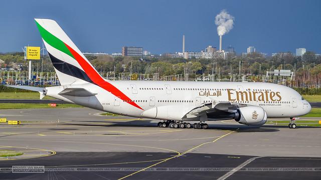 Emirates Airbus A380-800 A6-EDQ