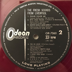 V.A.:THE FRSH SOUNDS FROM LIVERPOOL(LABEL SIDE-B)