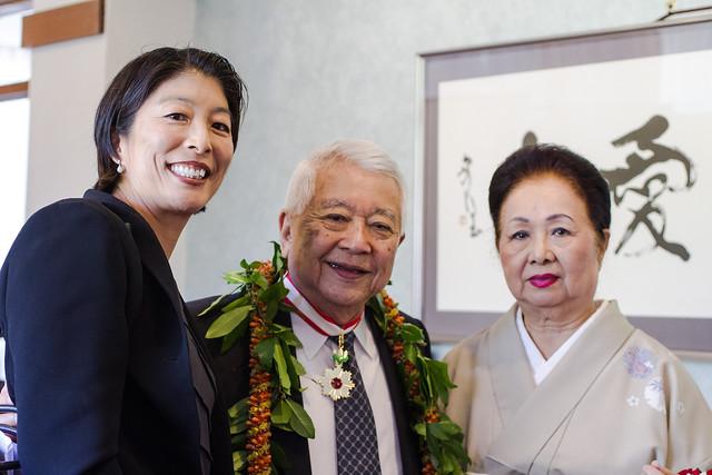 Dr. Satoru Izutsu receives Order of the Rising Sun