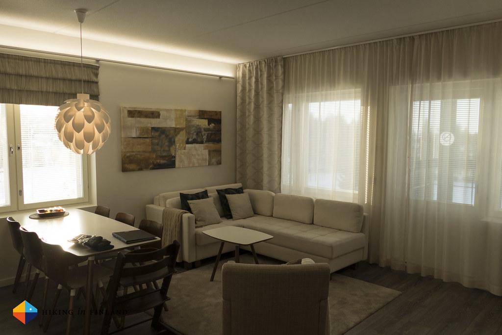 Hotelli Vuokatti & Suites - Living Room