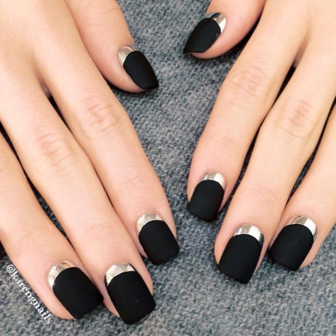Best 34+ ideas for Black Nails Art Design - Nails C