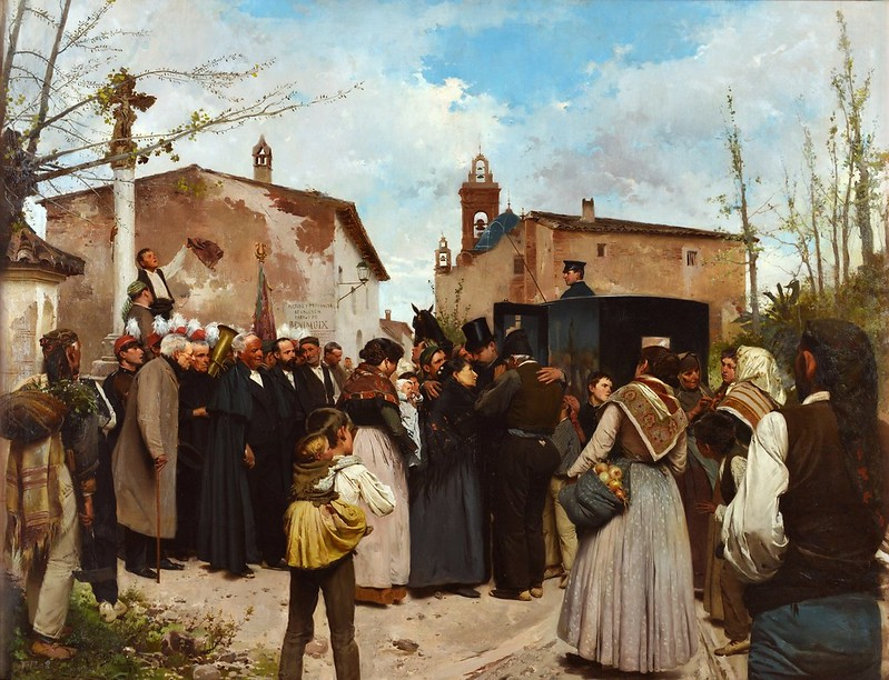 Antonio Fillol Granell - La gloria del pueblo (1895)