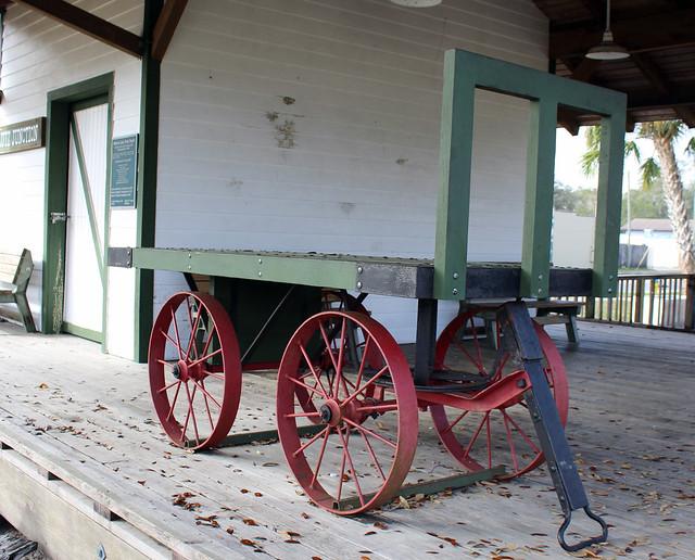 Tampa Northern Railroad Baggage Cart