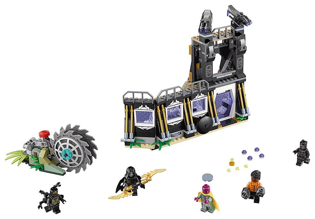 LEGO Marvel Super Heroes 76103 - Corvus Glave Thrasher Attack