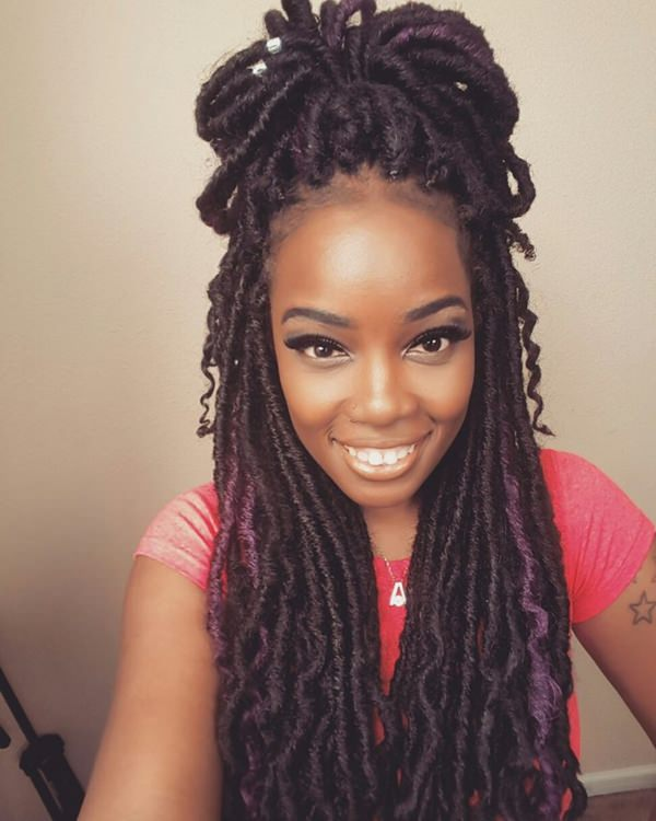 Top 20 Ingenious Faux Locs Hairstyle For 2018 Look Fashionre