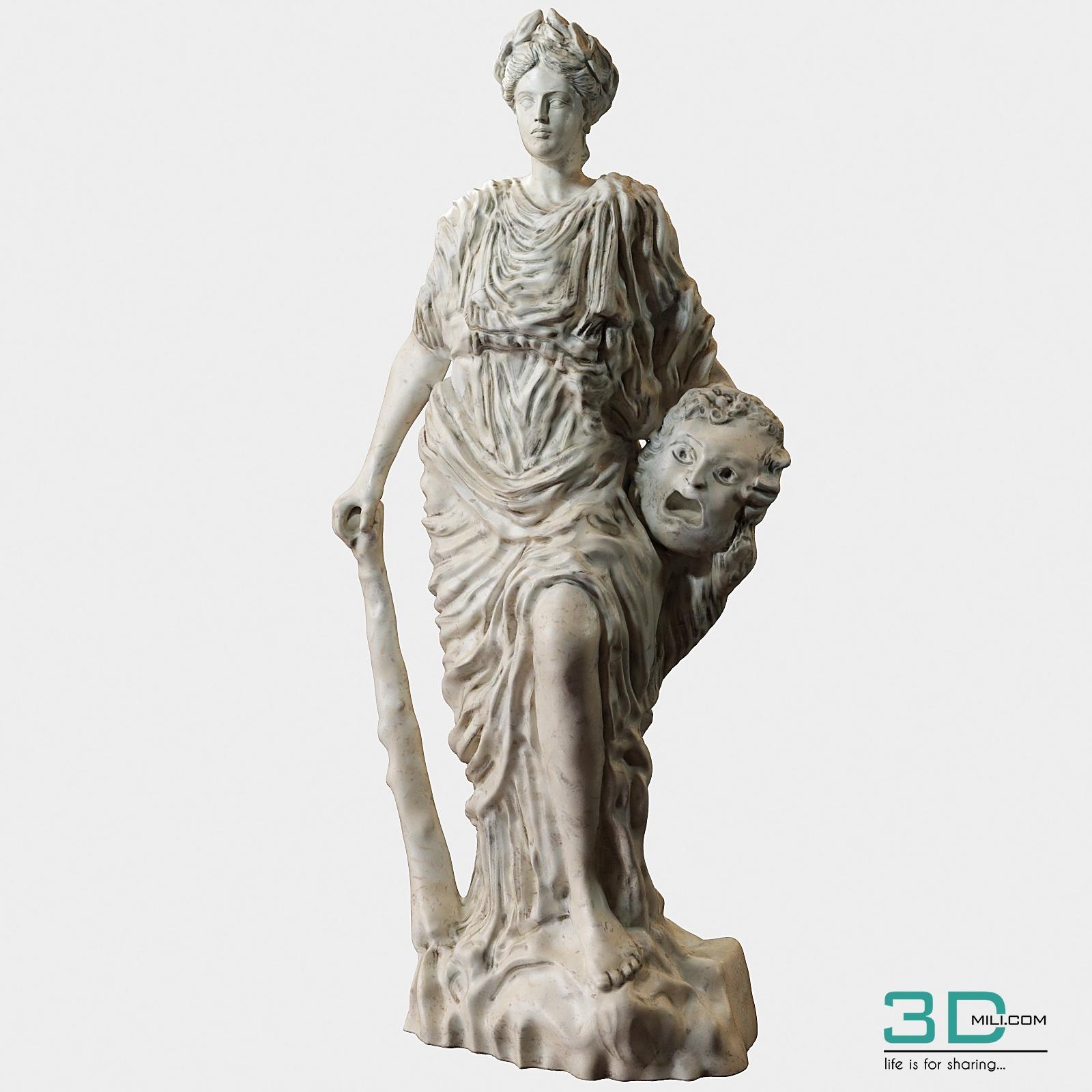 91  Sculpture Decor 3dsmax File Free Download - 3D Mili