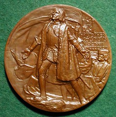 1893 Columbian Exhibition Award Medal obverse