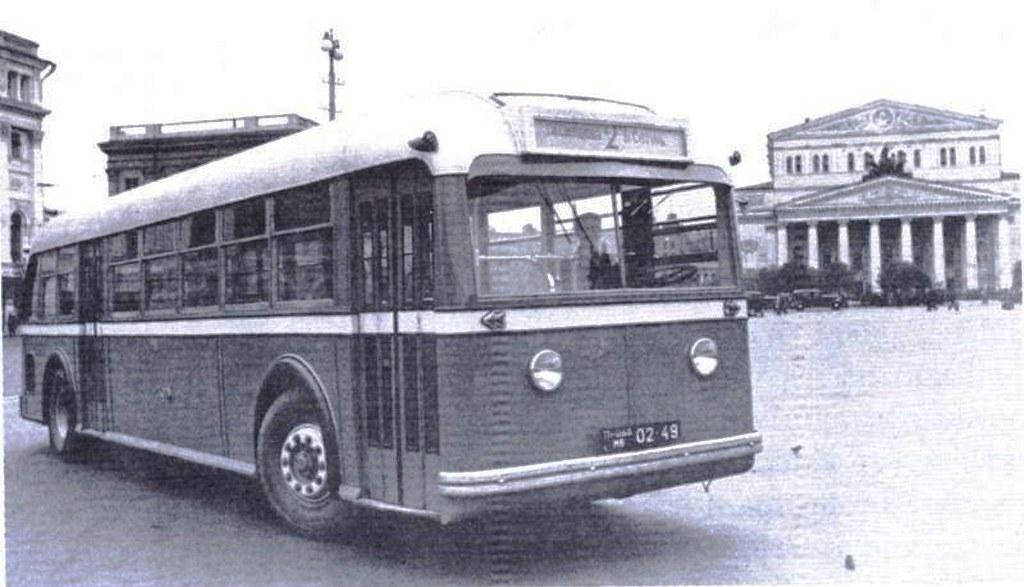 Экспериментальная модель от НАТИ совершила прорыв в автобусостроении СССР