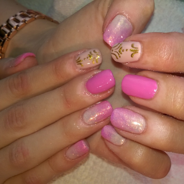 30 Funky And Vibrant Baroque Nail Designs Fashion 2d