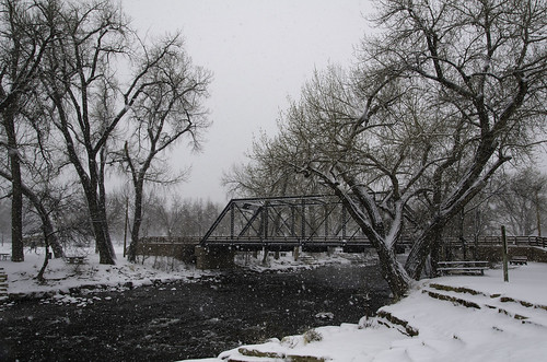 canoncity winter colorado arkansasriver snow river