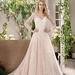 Tendance Robe du mariage 2017/2018 – Lace Tulle Long-Sleeved A-Line Gown | Jasmine Collection 191012 | trib.al/fp2PDt…