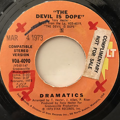 DRAMATICS:THE DEVIL IS DOPE(LABEL SIDE-A)