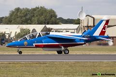 E165 3 F-TERE - E165 - Patrouille de France - French Air Force - Dassault-Dornier Alpha Jet E - RIAT 2010 Fairford - Steven Gray - IMG_9781