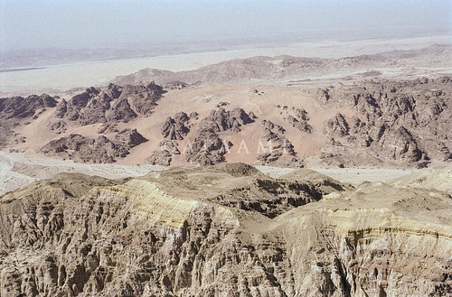 scannedfromnegative aerialarchaeology aerialphotography middleeast airphoto archaeology ancienthistory yahel aqabagovernorate jordan
