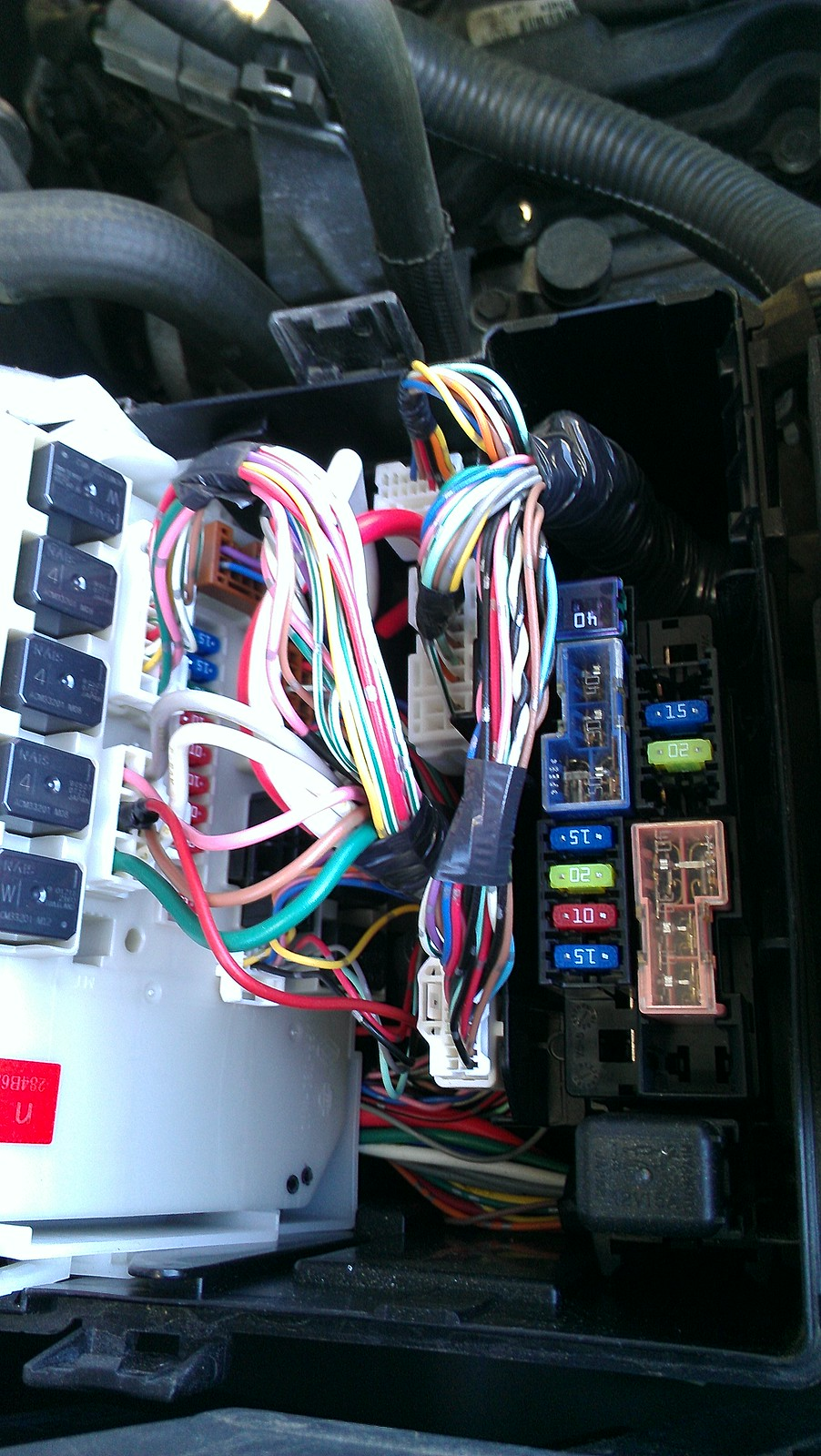 2007 Xterra Rear Power Outlet Replacement