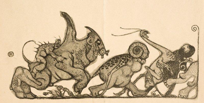 Richard Teschner - Vignette, 1904