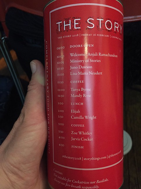 The lineup for The Story 21018