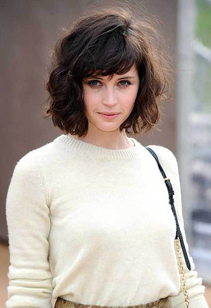 shag haircuts with bangs 10 best bob hairstyles with bangs for 2018 styles 4703
