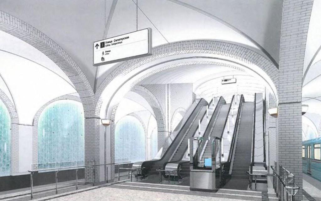 Как закапывают в землю символ московского метро