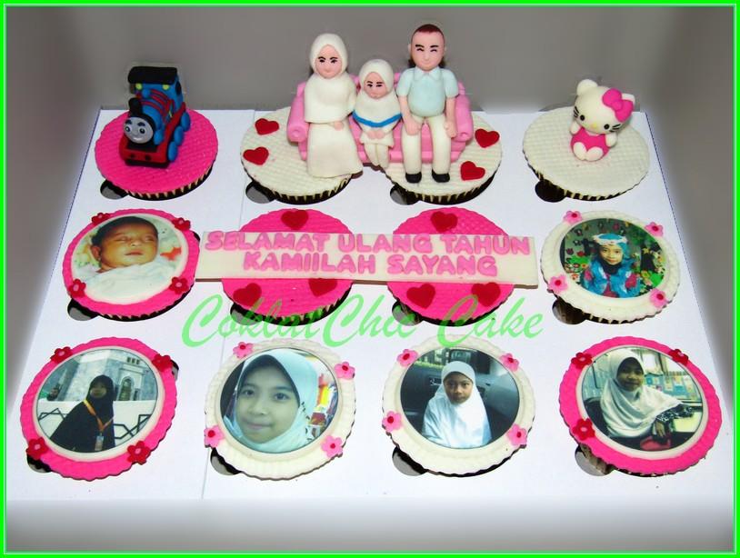 Cupcake set Family