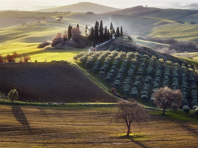 Val d'Orcia Italie