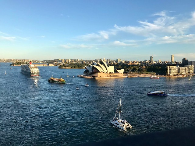 Sydney Harbour from the Bridge