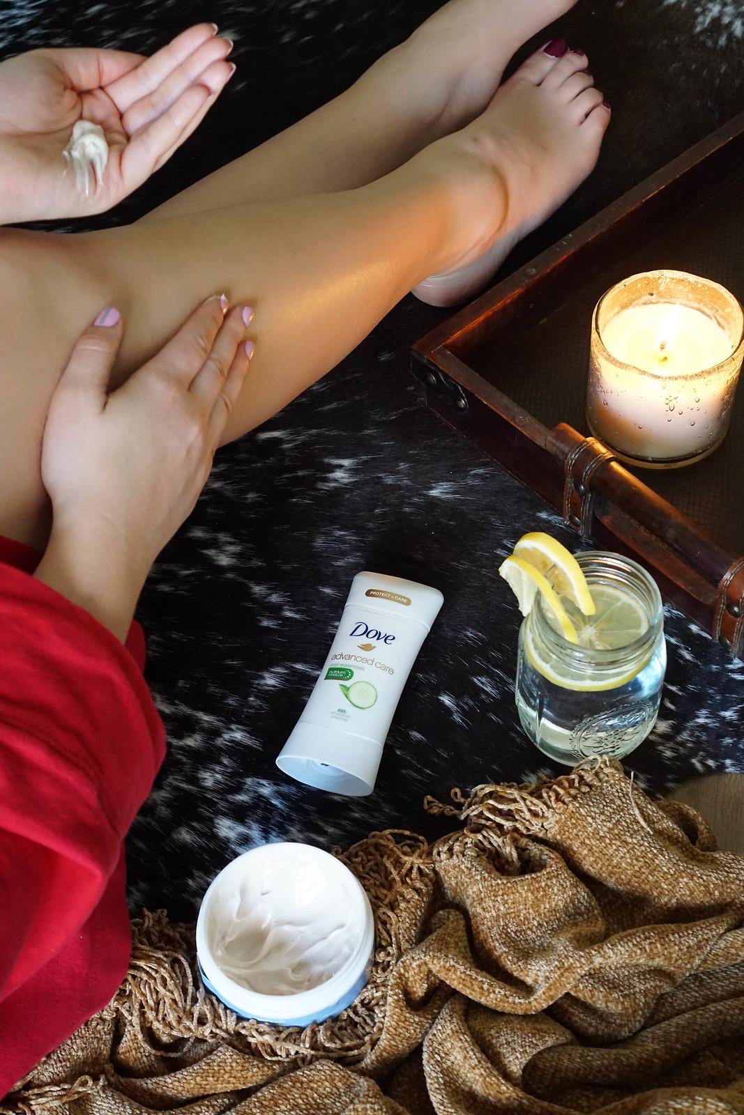 Winter Skincare Survival: 4 Tips For Combating Dry Winter Skin Dove Advanced Care Antiperspirant