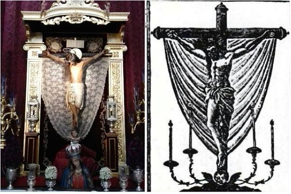 crucifijo de san agustin collage