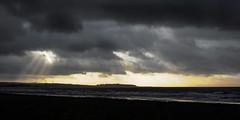 HolderStorm clouds over Maryport, Cumbria, UK (17/1/18)