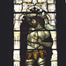 Tamworth, Staffordshire, St. Editha's, south aisle, west window, detail