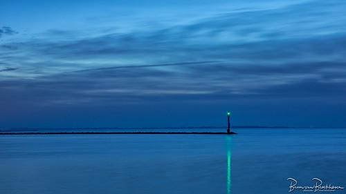 A green light in a blue world