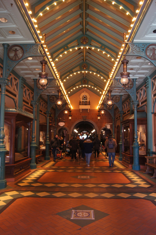 Disneyland Paris Trip - arcade