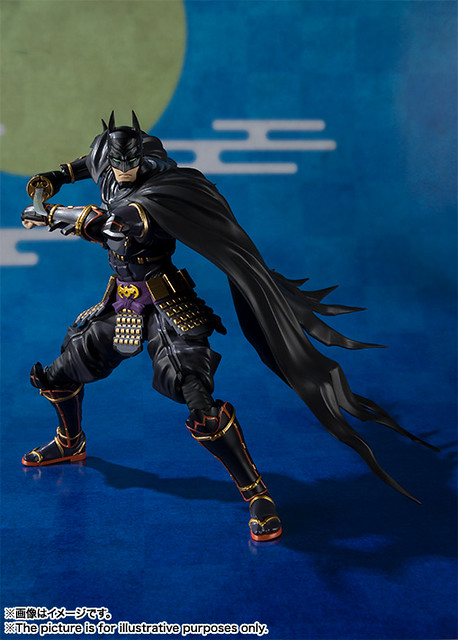 【官圖&販售資訊更新】蝙蝠俠 X 日本戰國時代!S.H.Figuarts《忍者蝙蝠俠》試作樣品 情報公開! ニンジャバットマン バットマン
