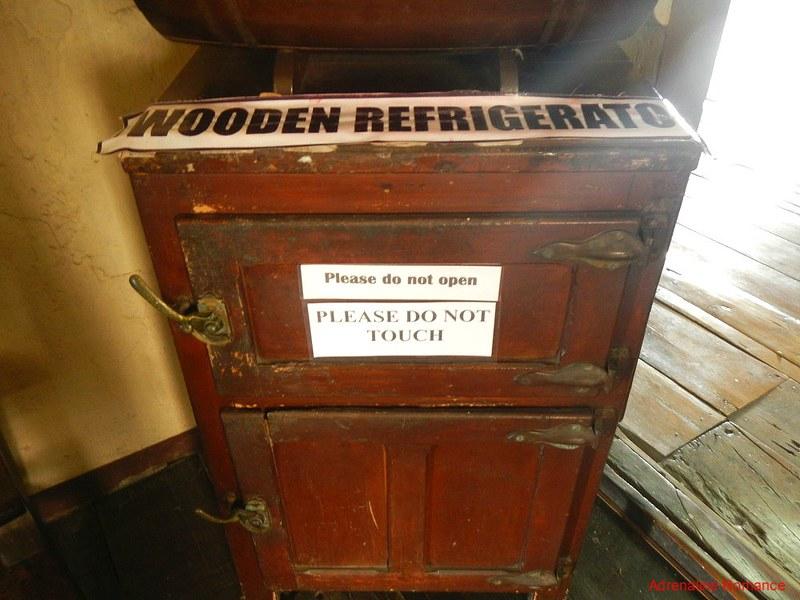 Wooden refrigerator?