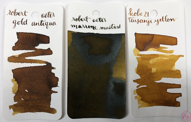 Ink Shot Review @RobertOsterInk Gold Antiqua 1