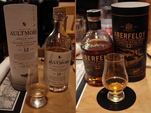 Aultmore (Speyside) und Aberfeldy (Highland)