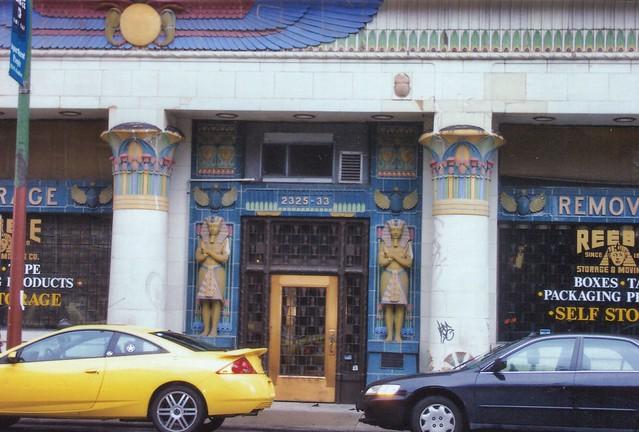 Chicago Illinois  - Reebie Storage Warehouse -  Architecture  Egyptian - Historic