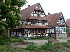 Fachwerkhäuser in Hohwiller ( Elsass ) - Photo of Hatten