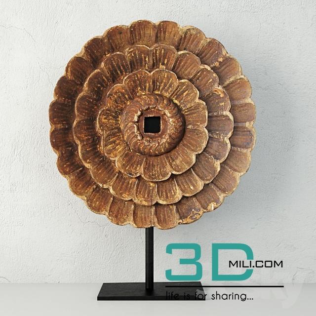 89  Sculpture Decor 3dsmax File Free Download - 3D Mili