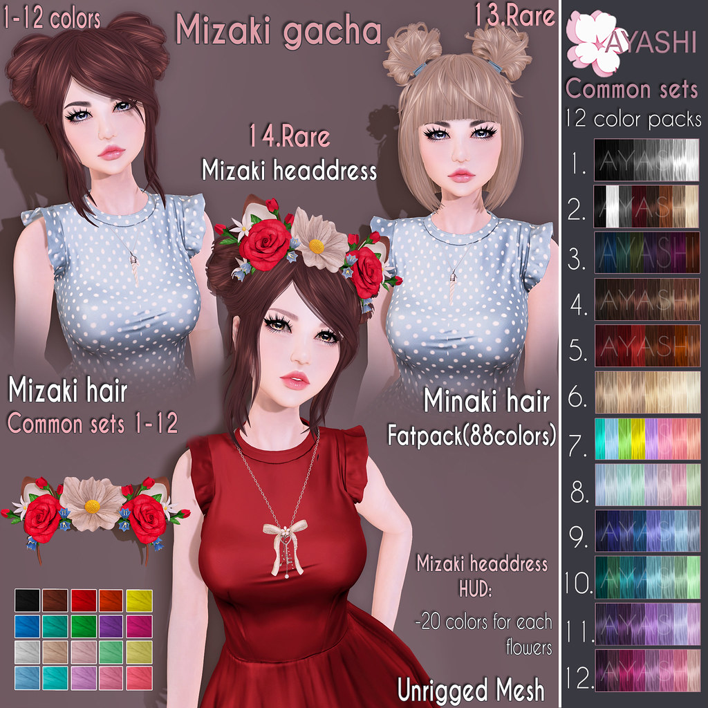 [^.^Ayashi^.^] Mizaki gacha special for The Imaginarium