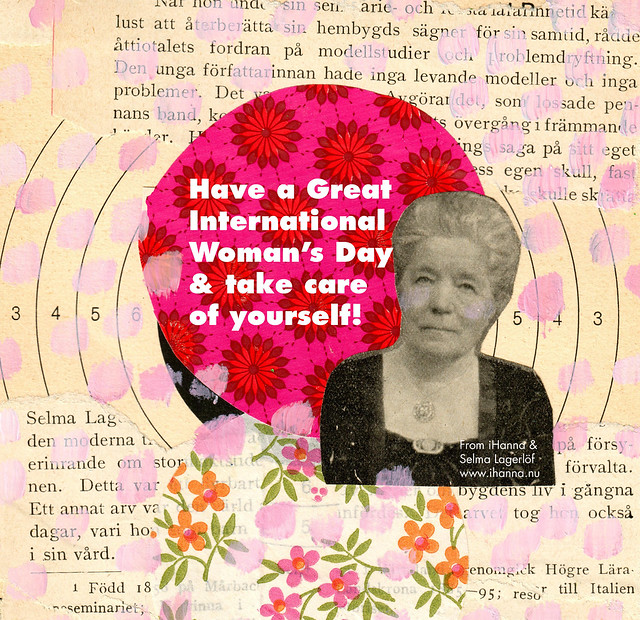 Wishing you a wonderful International Women's Day by Hanna Andersson aka iHanna #womensday #collage #8mars