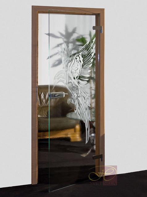 alcyon skleněné dveře