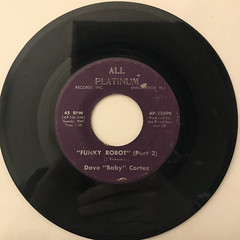 DAVE BABY CORTEZ:FUNKY ROBOT(RECORD SIDE-B)