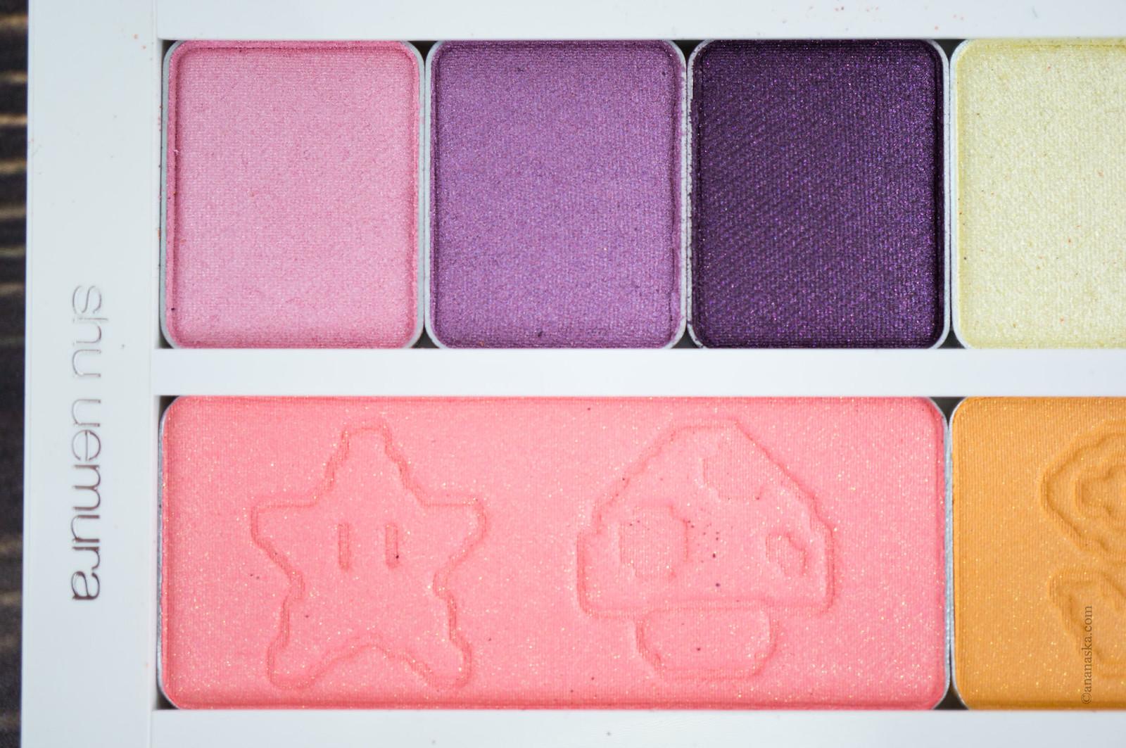Shu Uemura x Super Mario Bros Eye & Cheek Palette