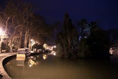 FR10 1029 Quai Edmond Combes. Le bassin du canal du Midi. Castelnaudary, Aude, Languedoc