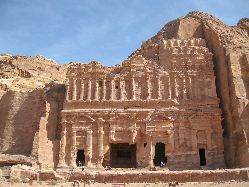 Unesco world heritage Petra Jordan