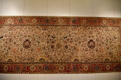 Moghul carpet, Lahore, ca. 1610; Pergamon Museum, Berlin (1)